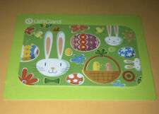 2009 TARGET EASTER BUNNIES & EGGS GIFT CARD NO VALUE COLLECTIBLE NEW