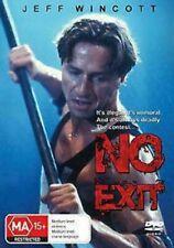 No Exit DVD Brand New & Sealed Jeff Wincott