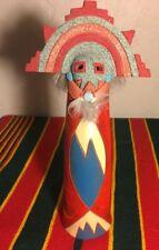 Terra Cotta Pottery Sculpture Native American - Signed Esta Bain