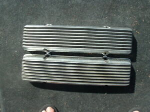 1949-1959 cadillac MOON 'no name' valve covers by Holmes Manufacturing vintage