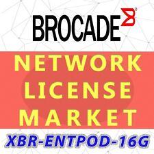 XBR-ENTPOD-16G Brocade Communications Software 24 Port On Demand 16G, E-Delivery
