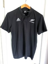 Adidas Climalite,New Zealand All Blacks Polo Shirt for Men. Black. Size small.