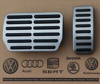 VW Bus T5 Multivan T6 pedal caps pedal set covers for automatic cars OEM