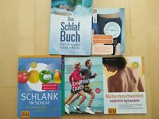 5 Bücher Gesundheit / Schlaf / Ernährung