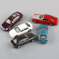 5pcs Painted Model Cars Building Train Layout 1:50 O Scale Great Collector