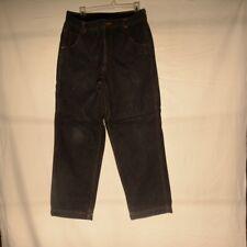 Eddie Bauer Mens Insulated Flannel Jeans 34 X 30