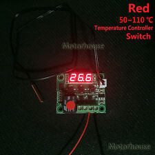 DC 12V Red Digital LED Temperature Controller Thermostat Control Switch + Probe