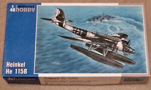 NEW Special Hobby Heinkel He 115B 1/48  Ltd Ed  Plastic Model Kit, Sealed Parts