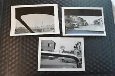 Unusual Vintage Photos Car Window View of Street Scenes 874003