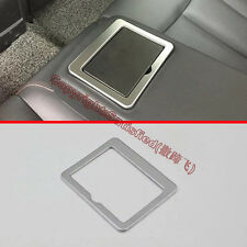 Chrome Interior Rear Seat Cup Holder Cover Trim For Nissan Altima 2016 2017