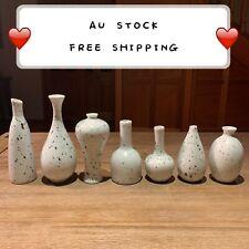 Ceramic Handmade Flowerpot Dot Vase Home Office Sculpture Art Gift Present VA8