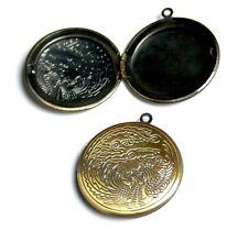 Pack of 2 Brass Locket with Dragon Locket Pendant