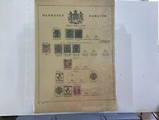 Hannover  stamps page  R29976
