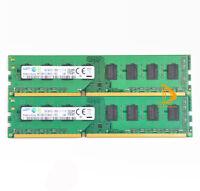 Samsung 16GB RAM 2x 8GB PC3L 12800U 2RX8 DDR3 1600MHz DIMM Desktop Memory Intel