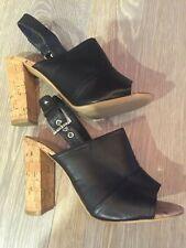Tony Bianco Womens Stylish Open Toe Block Heels Size 8 BRAND NEW WITHOUT BOX!