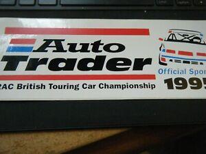 AUTO TRADER BTCC 1995 STICKER FORD MONDEO COSWORTH WILLIAMS RENAULT LAGUNA ALFA