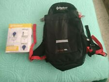 Outdoor Products ARROYO 13L Mist Hydration BackPack 2-Liter Reservoir Black Red