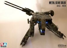 3A SIDESHOW MGS REX FIGURE, ASHLEY WOOD, METAL GEAR, KONAMI