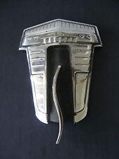 STUDEBAKER  RARE  Emblem Trim Script Metal Badge  Ornament Nameplate