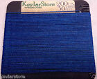 200lb test Kevlar Cord  30ft Increments  Blue Coating  FREE SHIPPING