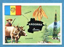 LA TERRA - Panini 1966 - Figurina-Sticker n. 145 - ANDORRA -Rec