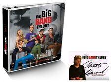 The Big Bang Theory Platinum Edition Binder w/ Christine Baranski Autograph Card