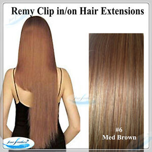 """24"""" Clip in 100% Human Indian Remy Hair Extension #60 white Blonde100G/ 7 pcs"""