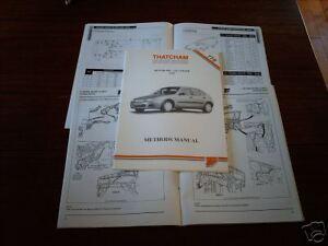 Body Repair Methods Manual Rover 200 Vi, 214, 216, 220 1995 on