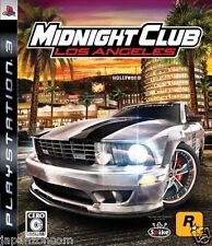 Used PS3 Midnight Club: Los Angeles SONY PLAYSTATION 3 JAPAN JAPANESE IMPORT
