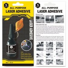 1 x All Purpose Laser 5 Second Rapid Fix Adhesive UV Light Repair Cure Glue 15ml