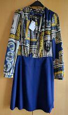 Love Moschino Womens Bow Collar Dress Size 8 BNWT RRP£385