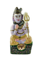Statua Di Shiva Divinità Indiano IN Pietra India NP15