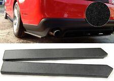"21"" Rear Bumper Lip Apron Splitter Diffuser Valence Bottom Skirts For BMW AUDI"