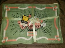Vintage Falfax designed by Tammis Keefe Linen Placemats set of Four New