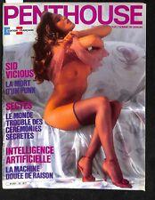 PENTHOUSE 23- 1986 - CN/NEUF- 48,22 -NON LU- SEX PISTOLS /LA MORT DE SID VICIOUS