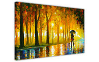 AT54378D Bewitched Park By Leonid Afremov Canvas Print Wall Art Picture Abstract
