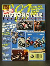 Vintage Dirt Riders Motor Cyclist Motorcycle Buyers Guide 1987 CR500 KX500 YZ490