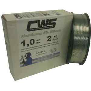 Aluminium MIG Welding Wire 4043A (NG21) 2kg 1.0mm Layer Wound. Free Delivery