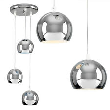 Modern Silver Chrome 3 Way Multi Ceiling Pendant Light Cluster Fitting Lights