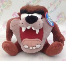 LOONEY TUNES PLUSH SPIN AND SNARL TASMANIAN DEVIL - RARE - GREAT FUN!!!