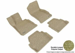 For 2014-2020 Bmw 4 Series R1 R2 Classic Carpet Tan All Weather Floor Mat