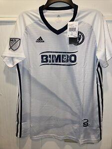Philadelphia Union Secondary Short Sleeve Shirt jersey Mens 2019 Size L $90 MLS
