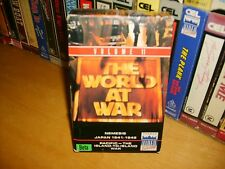 Betamax *THE WORLD AT WAR-Vol.11* Ultra Rare CEL/Thames Carton Issue - Beta Tape