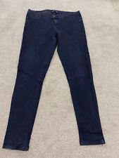LOVE LABEL Black soft stretchy skinny jeans - Size 16 R