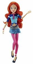 "Winx Club 11.5"" BLOOM  Basic Fashion Doll Concert Collection Fairy Nickelodeon"