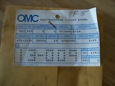Evinrude Johnson OMC, Gearcase Shim, 911668