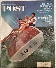 SATURDAY EVENING POST Jul 13 1968 * Sex/Brutality in Jail * The State Department