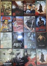 DVD Sammlung, Asia/Ninja/Action FSK 18, 16 DVDs, Konvolut, Sammlungsauflösung