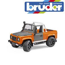 Bruder Land Rover Defender Pick Up Truck Childrens Kids Toy Model Scale 1:16