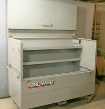 Very large Piano Style Job Box with wheels and locks